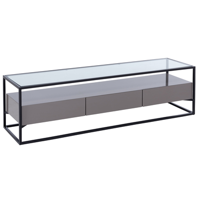 Drift TV unit stone gloss