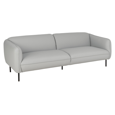 Valletta three seater sofa stone