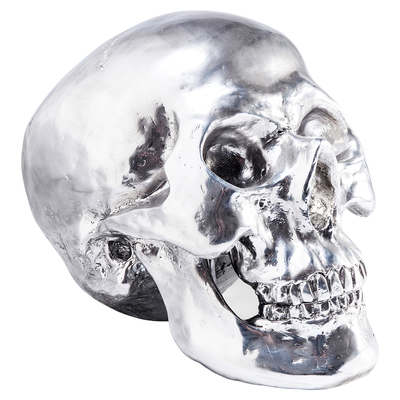 Skull figure chrome