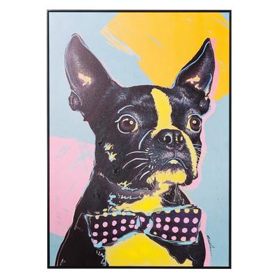 Bold bulldog art