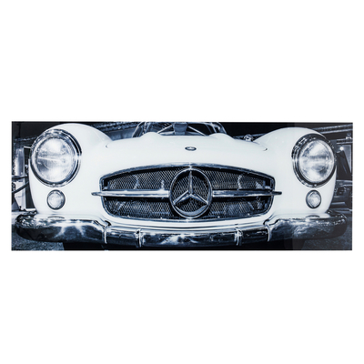 Car front glass art