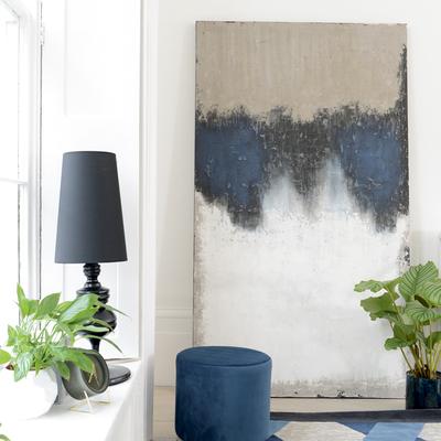 Dusk oil painting art