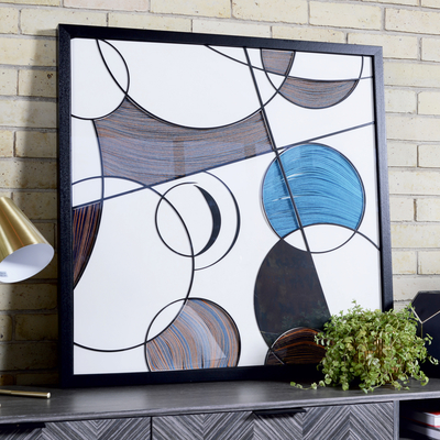 Circles deco wall art