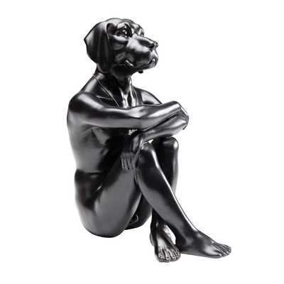 Gangster dog figure black