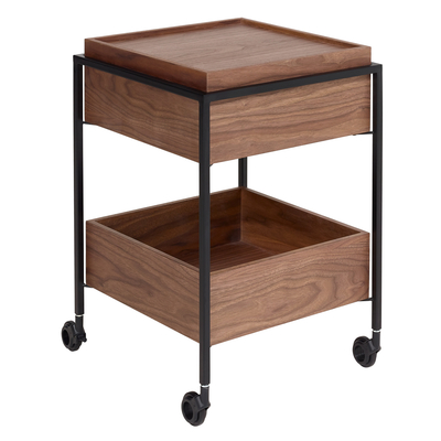 Drift trolley walnut