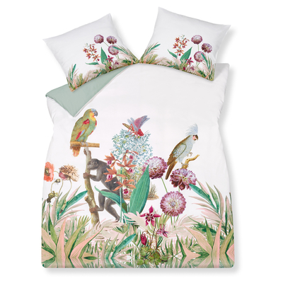 Tropical animals duvet set king