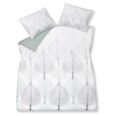 Leaf duvet set king
