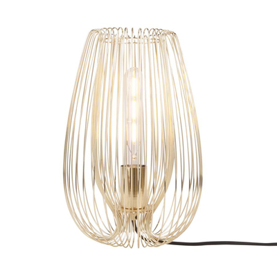 Strand table light gold medium