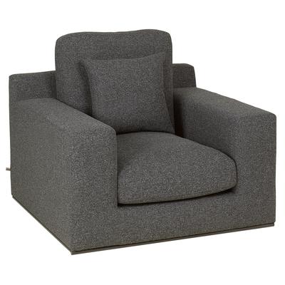 Lisbon armchair charcoal