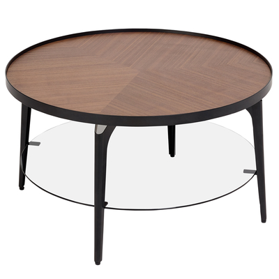 Luna coffee table walnut