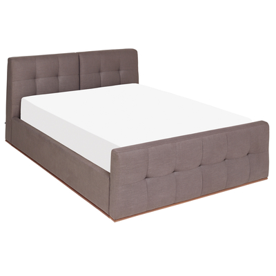 Marseille storage bed grey double