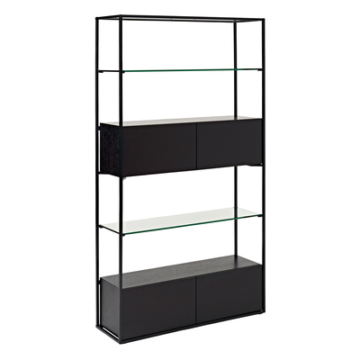 Drift shelving darkwood