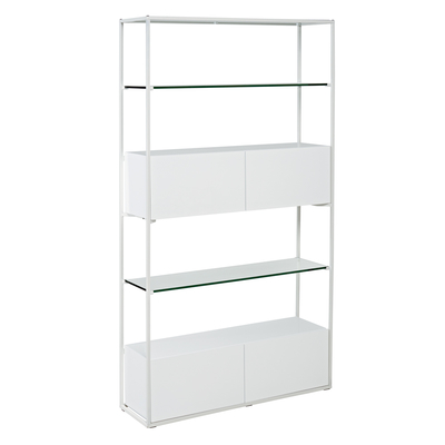 Drift shelving white