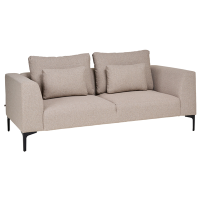 Cannes two seater sofa oatmeal