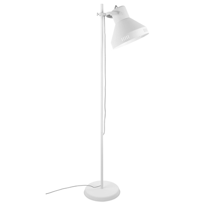 Lunga floor lamp metal white