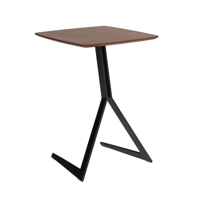 Sopra laptop table walnut top