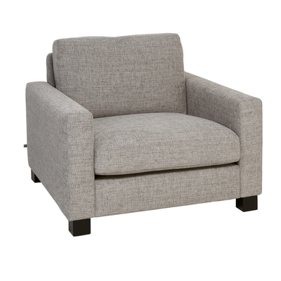Monaco armchair grey fabric