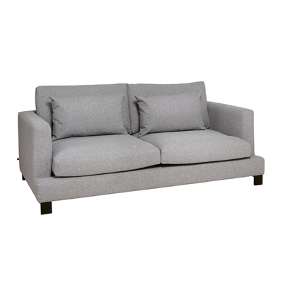 Lugano three seater sofa silver