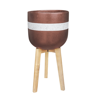 Hortus cement planter terracotta