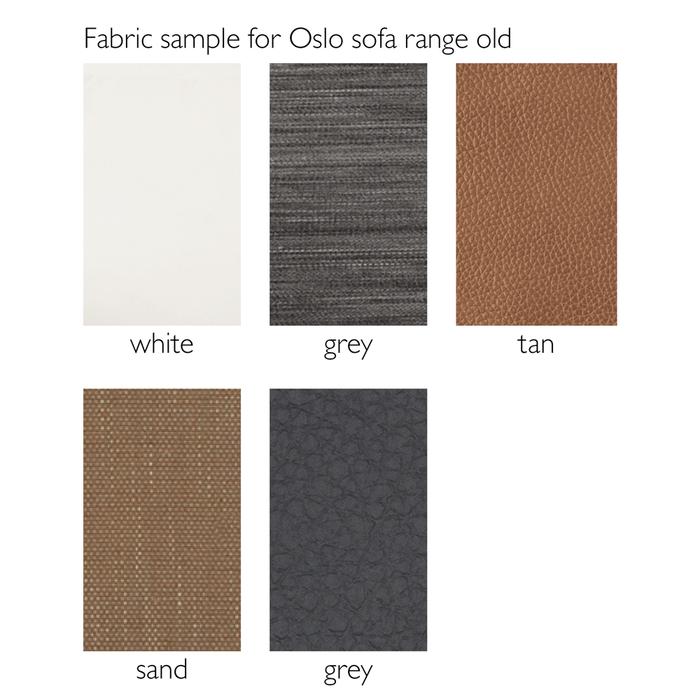 Fabric sample for Oslo sofa range old