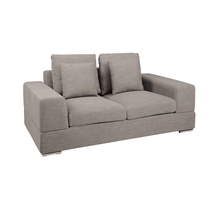 Verona two seater sofa mocha