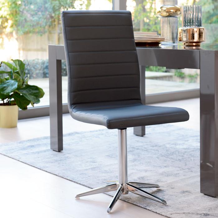 Ripple dining chair grey