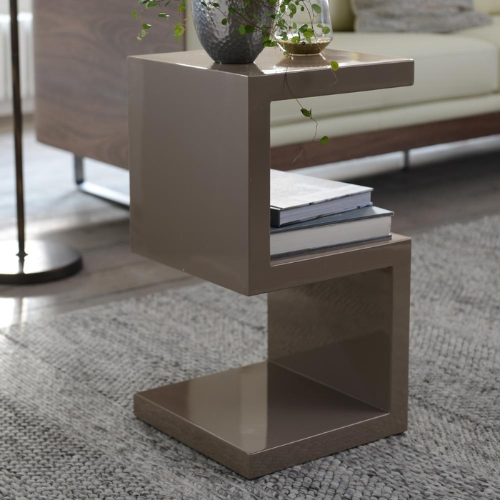 S side table stone