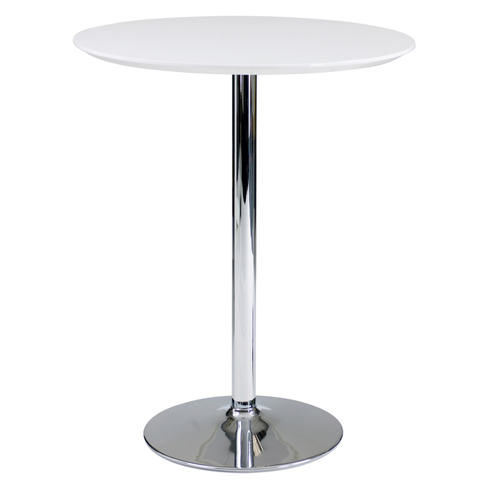 Palermo bar table white
