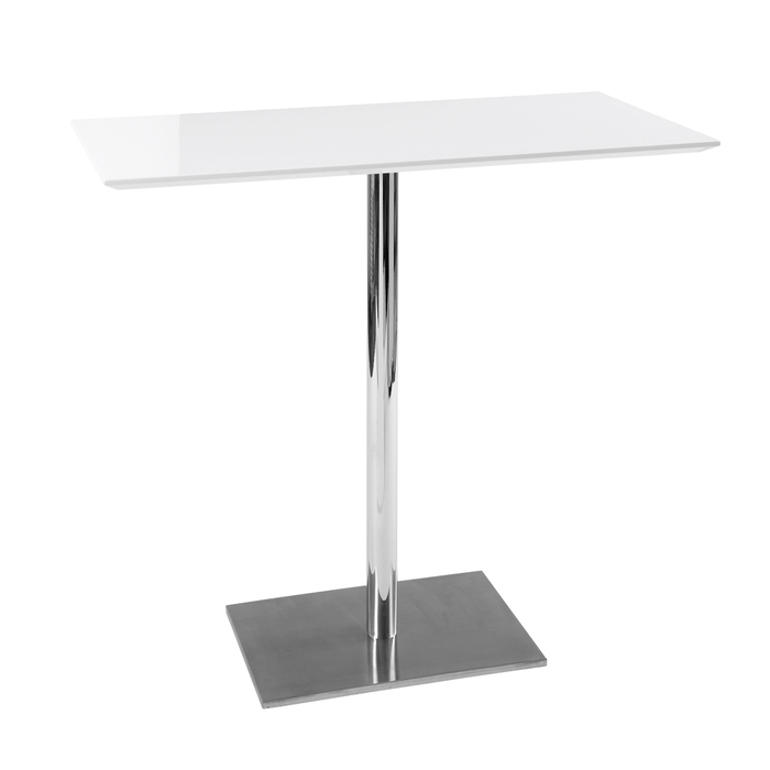 Sicily bar table white