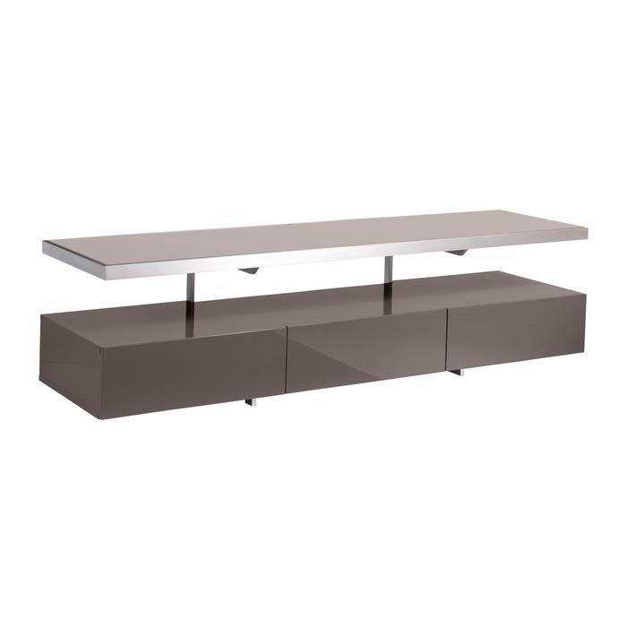 Floating shelf TV unit stone