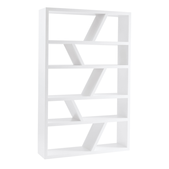Hoxton wide shelving white