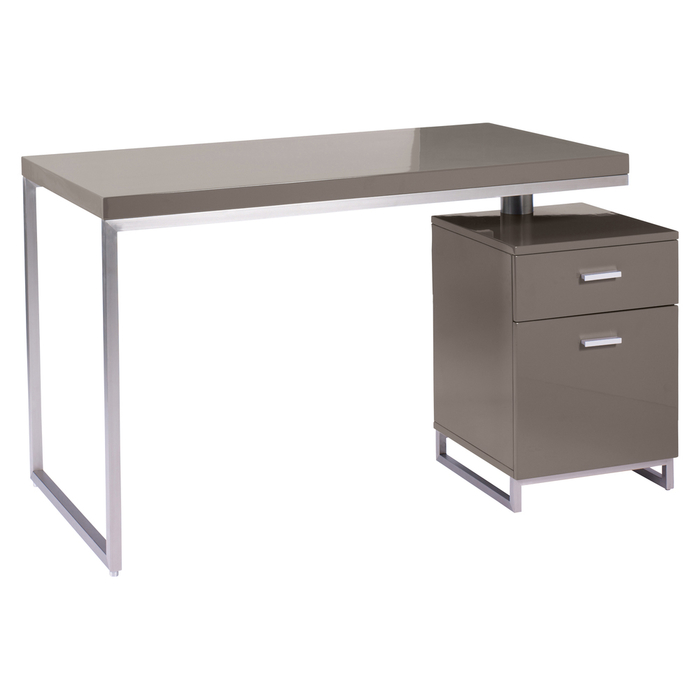 Reversible desk and drawers stone