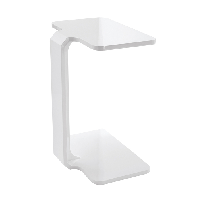 Marcello laptop table white gloss