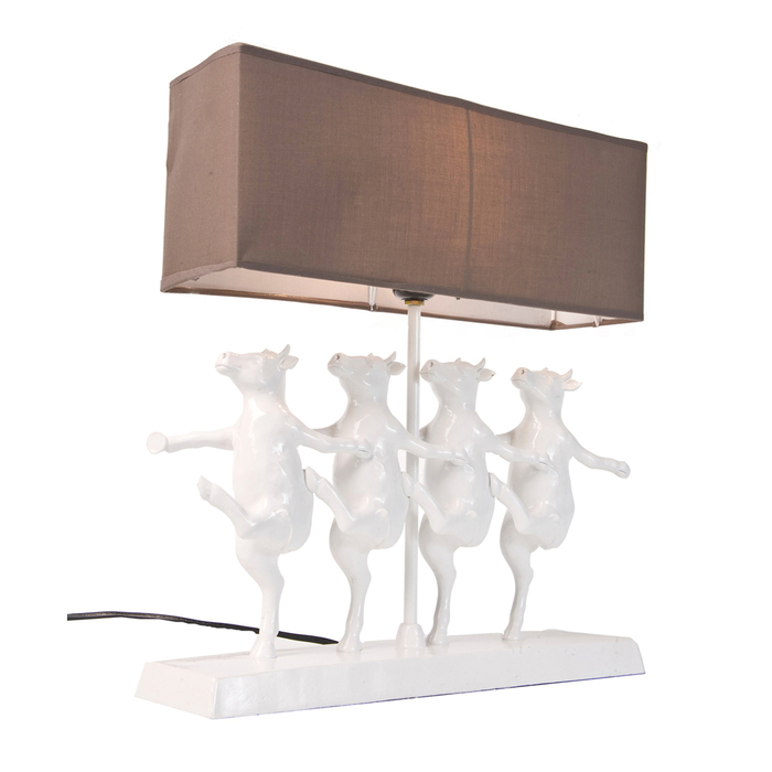 Dancing Cows Table Lamp Dwell
