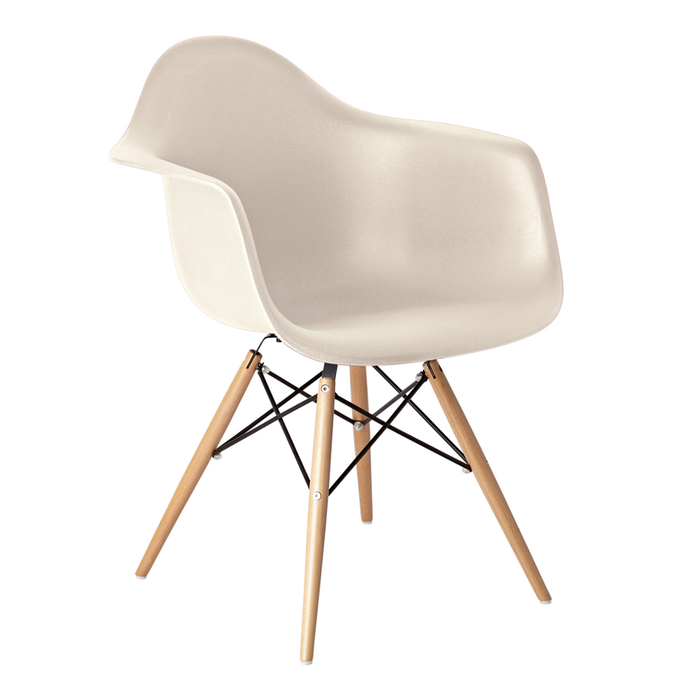 eiffel armchair with beech legs beige dwell : 700 134913 from dwell.co.uk size 700 x 700 jpeg 137kB