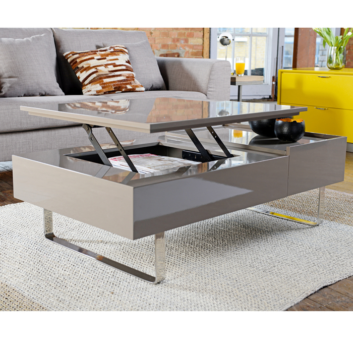 Reveal coffee table stone