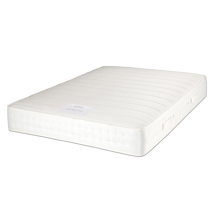 Cotton memory pocket sprung single mattress