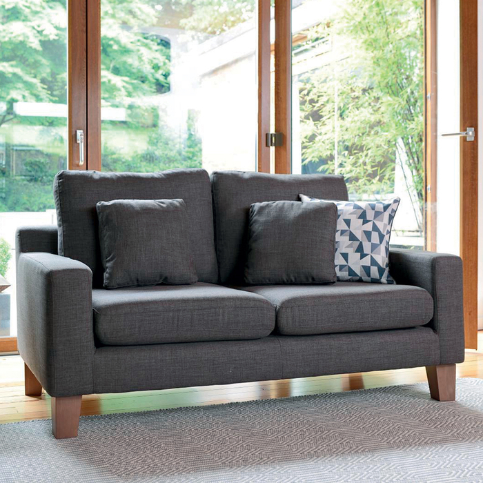 Ankara two seater sofa truffle