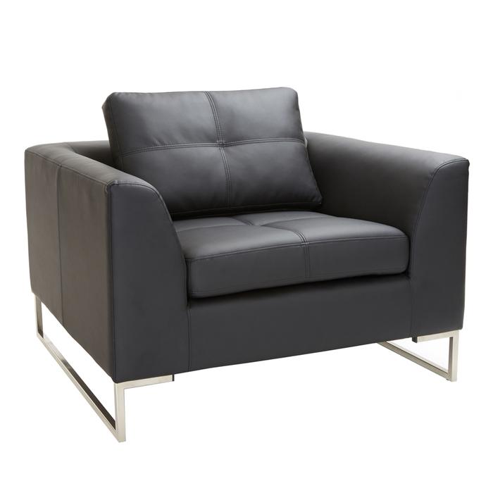 Vienna armchair black