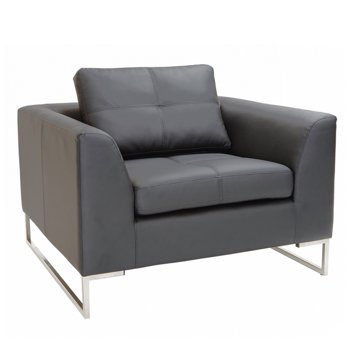 Vienna armchair grey