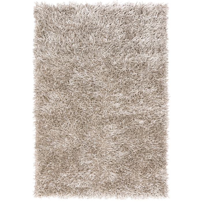 Spike rug large silver