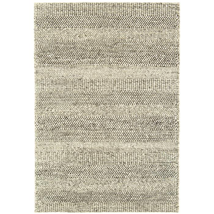 Strata rug medium grey marl stripe