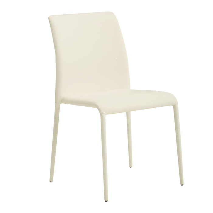 Svelte dining chair off white