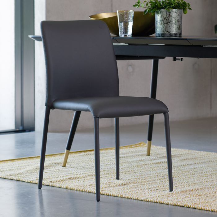 Svelte dining chair grey - dwell