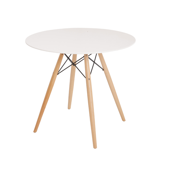 Eiffel dining table with beech legs small
