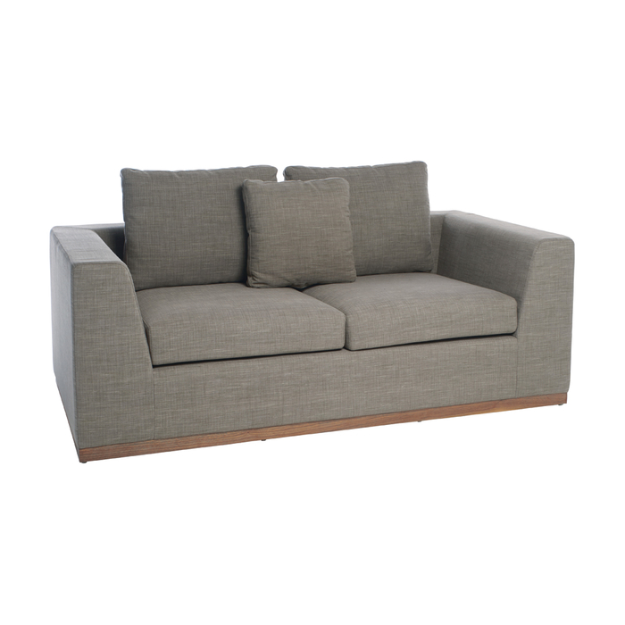 Seville sofa bed two seater mocha