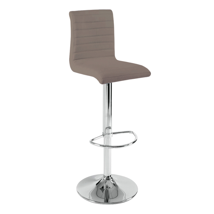 Ripple bar stool stone