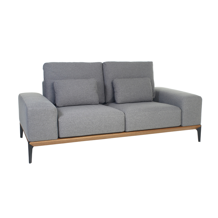 Malmo two seater sofa grey