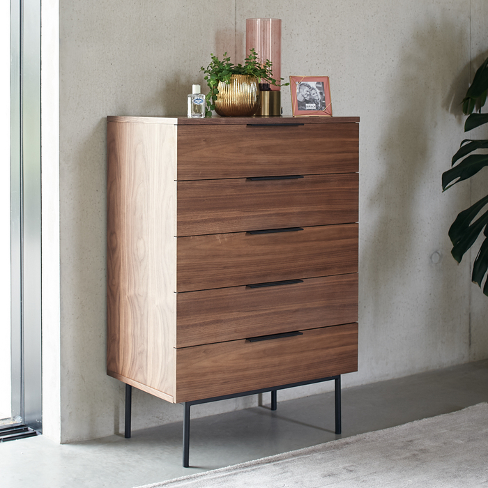 Antwerp five drawer chest