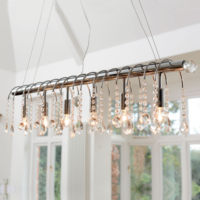 Chandelier pendant light line